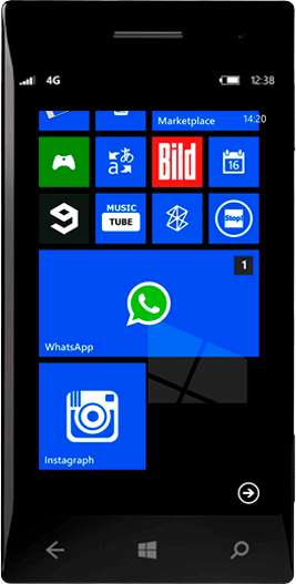WhatsApp Windows Phone иконка
