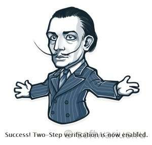 Telegram. Success! Two-Step verification is now enabled.